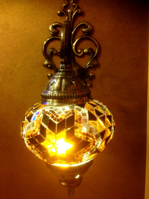 MOSAIC WALL SCONCES
